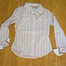 LIMITED TOO JEANS LONG SLEEVE SHIRT TOP-SIZE 12-NWT