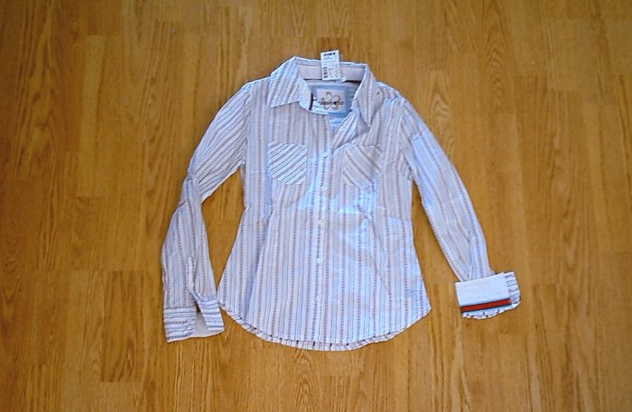LIMITED TOO JEANS LONG SLEEVE SHIRT TOP-SIZE 10-NWT