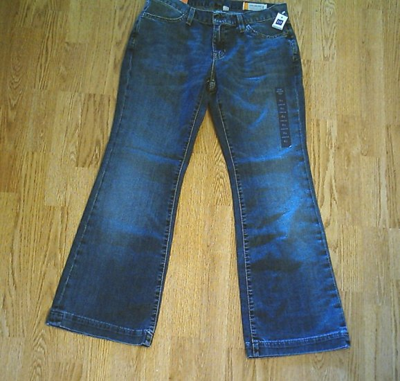 GAP LONG AND LEAN FLARE JEANS-SIZE 6-31 X 29 1/2-NWT