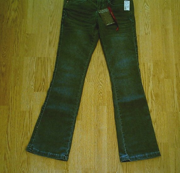 JOU JOU LOW RISE STRETCH JEANS-SIZE 7/8-30 X 33-NWT