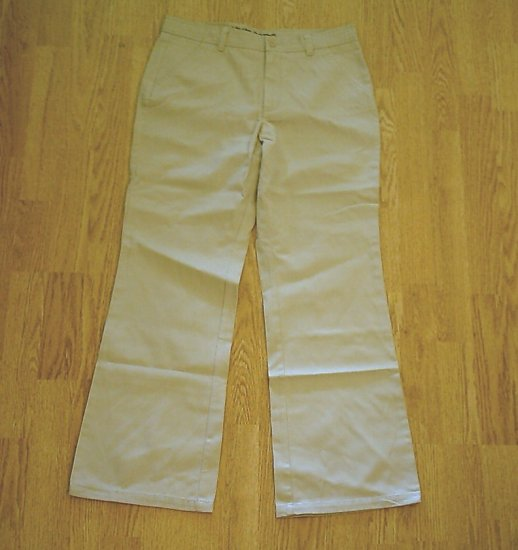 LIMITED TOO JEANS UNIFORM KHAKI PANTS-14 1/2 GIRLS-NWT