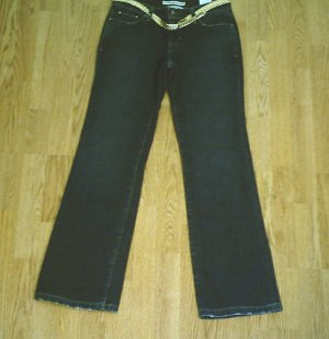 TOMMY LOW RISE BOOTCUT JEANS-SIZE 4-29 X 32-NWT