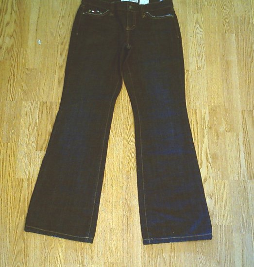 TOMMY LOW RISE FLARE JEANS-SIZE 4-31 X 32 1/2-NWT