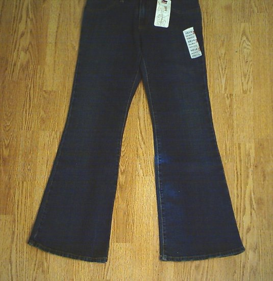 LEVIS 537 LOW FLARE STRETCH JEANS-SIZE 8-30 X 31.5-NWT