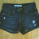 OLD NAVY JEANS MIDRISE DENIM SHORTS-SIZE 0-27 X 3-NWT