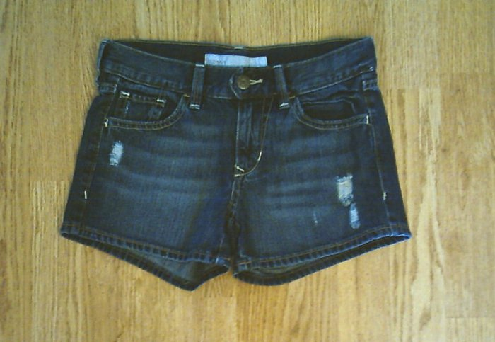 OLD NAVY JEANS MIDRISE DENIM SHORTS-SIZE 0-28 X 3-NWT
