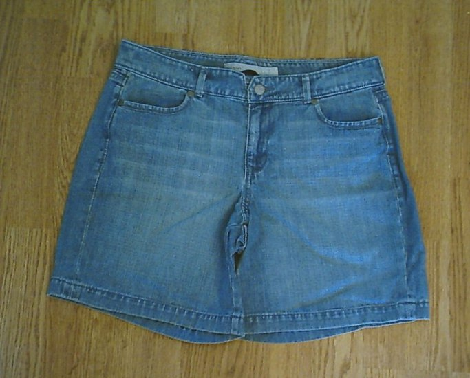 OLD NAVY JEANS CLASSIC RISE DENIM SHORTS-SIZE 6-NWT