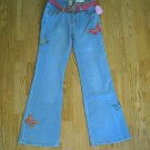 ARIZONA GIRLS BUTTEFLY FLARE JEANS-12 SLIM-25/27.5-NW​T