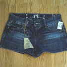 MAURICES JEANS MADISON SHORTS-SIZE 3/4-30 x 3-NWT