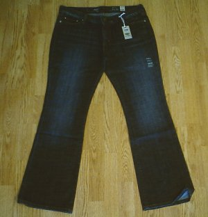 LEVIS BOOT STRETCH JEANS-SIZE 14-36 x 32-NWT $60