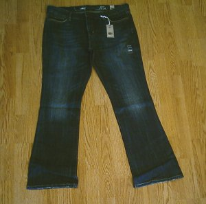 LEVIS BOOT STRETCH JEANS-SIZE 14-37 X 31 1/2-NWT $70