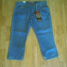 LEVIS JEANS RED TAB CAPRIS CROP PANT-SIZE 6-33 x 23-NWT