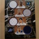 2007 Topps Luxury Box 7 Swatch NBA Game Worn Jersey Card