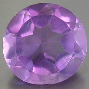 Large Natural Purple Amethyst 11.5mm round cut gem 5.418  carats