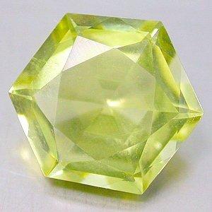 Natural 4.00 Ct. carat Lemon Citrine Fancy Hexagon cut gem stone 11mm $10.00 each