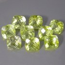 Natural Lemon Citrine Antique Cushion Cut With Checker Board Table 6mm gems $7.50 each