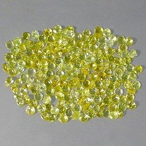 Natural 2.5mm Round cut Yellow Beryl gems stone Just $0.50 each