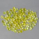 Natural 3.5mm Round cut Yellow Beryl gems stone Just $2.00 each