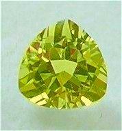 Natural 3mm Trilliant cut Yellow Beryl gems stone Just $3.00 each