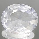 Natural 4.62 Ct. White Quartz 14 x 12mm Oval Cut VS gem stone