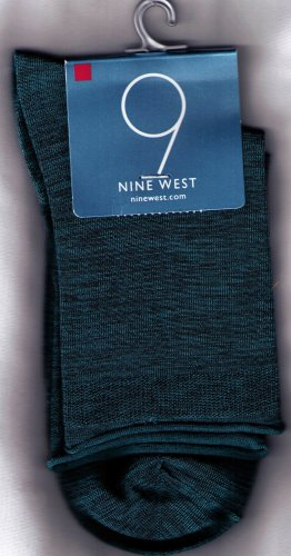 Nine West Iroquois Heather Jean Sock -Rolled Edge