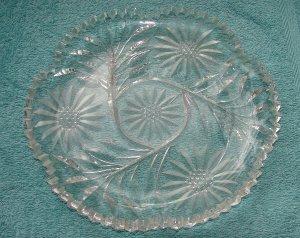 Fabulous Cut Glass Serving Dish