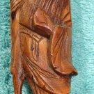 Oriental Monk Rosewood Sculpture