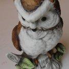 Porcelain Musical Owl Figurine - Flambro