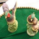 Pair of Ardault Pheasant Figurines
