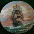 The Blue Jacket At Sunset Collectors Plate