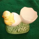 Beautiful Egg Cup w/chick on it.