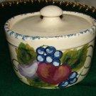 Beautiful Cow Creek Pottery Lidded Jar