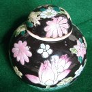 Vintage Oriental China Tea Caddy