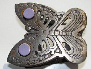 Metal Butterfly Napkin Holder