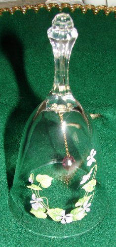 Beautiful Lead Crystal Bell by Avon