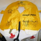 PAN AM AIRLINES Vintage Original 1970's Life Vest~RARE~MINT