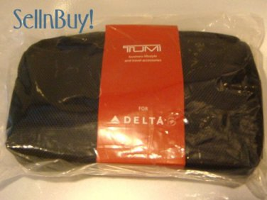 DELTA Airlines TUMI Business Class Amenity Kit ~ NEW & SEALED!