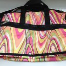 LeSportsac JET STREAM Large Weekender Carry On Bag NWT! Made in USA