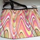 LeSportsac JET STREAM ZipTop Shopper Tote Bag NWT! Made in USA  7862Z 3298
