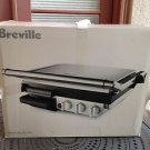 Breville 800GRXL Nonstick Indoor BBQ and Panini Grill ~ Used Once Only!