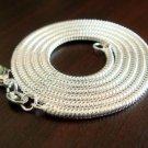 ".FREE P&P! 925 sterling 2MM snake chain,16""H29 5PCS"