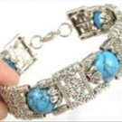 Tribe Jewelry Tibet Silver & Turquoise Bracelet