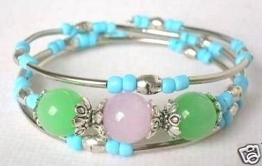 Fancy Jewellery Tibet Silver Jade Turquoise bracelet