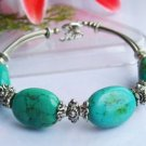 Fancy Beautiful Tibet Silver Turquoise Bracelet