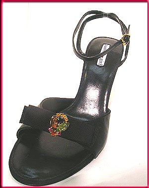 Tommy Girl Shoes Black PUMPS Slingbacks Heels Sz 9