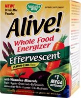 ALIVE Whole Food Energizer Effervescent Multi-Vitamins & Minerals