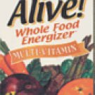 Nature's Way Alive Whole Food Multi Vitamin 90 tablets