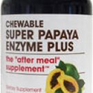 Super Papaya Enzyme Plus from American Health - 180 chewables