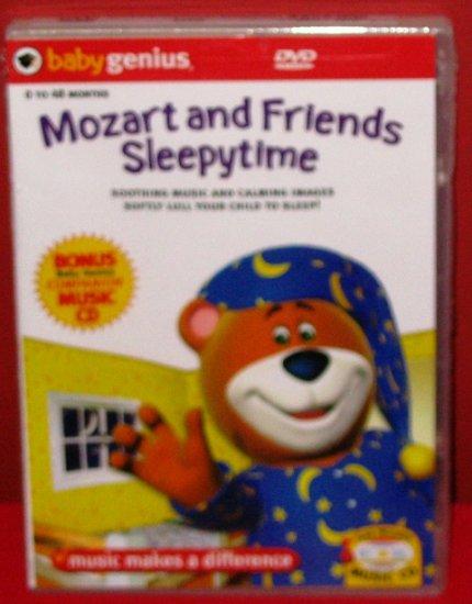 Baby Genius Mozart and Friends SleepyTime w/ bonus music CD NEW