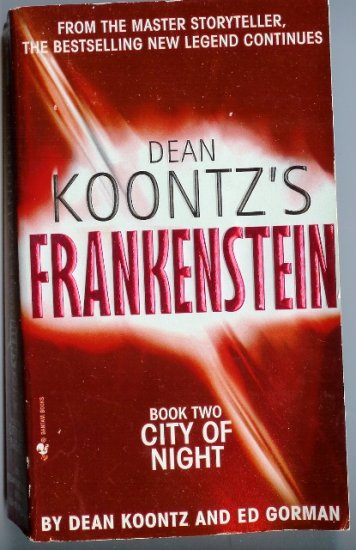 Dean Koontz Frankenstein BK 2 City of Night PB